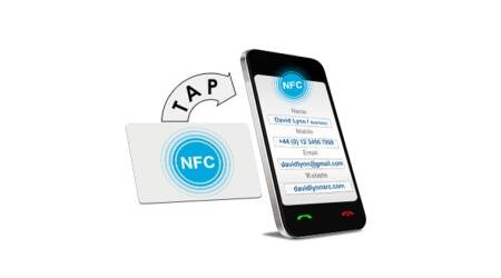 NFC business cards: Good option, just pray everyone has NFC