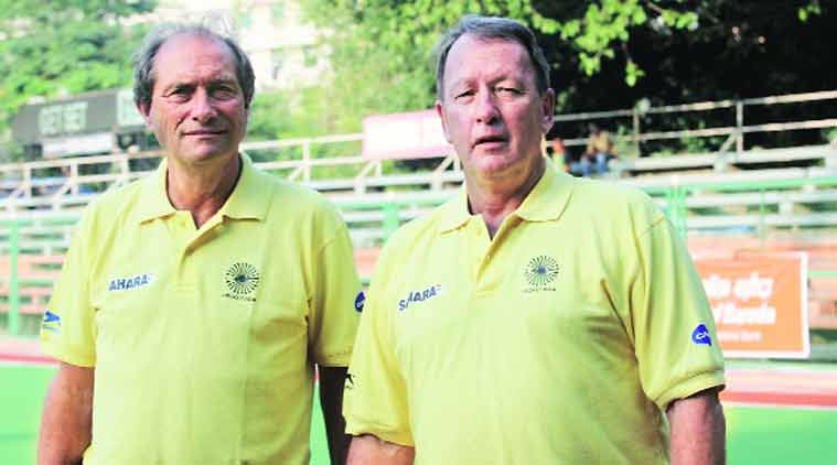 Oltmans,High Performance Director of Indian hockey, has to double up as coach after Terrry Walsh quit from his post.