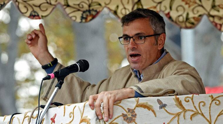 """""""Not a single BJP flag or banner on the vehicles or with the people I saw walking into the stadium. Such a telling sign of BJP support,"""" said Omar."""