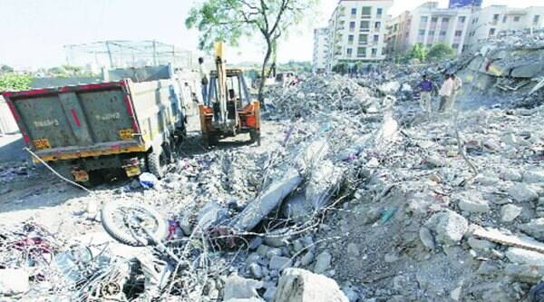 A five-storey building had collapsed in Narhe village on November 1, killing a techie.