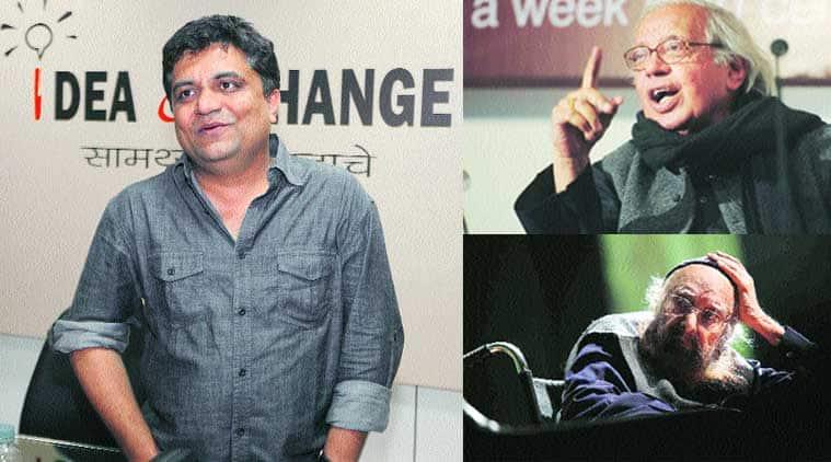 Swanand Kirkire, Khushwant Singh, Ashok Vajpeyi