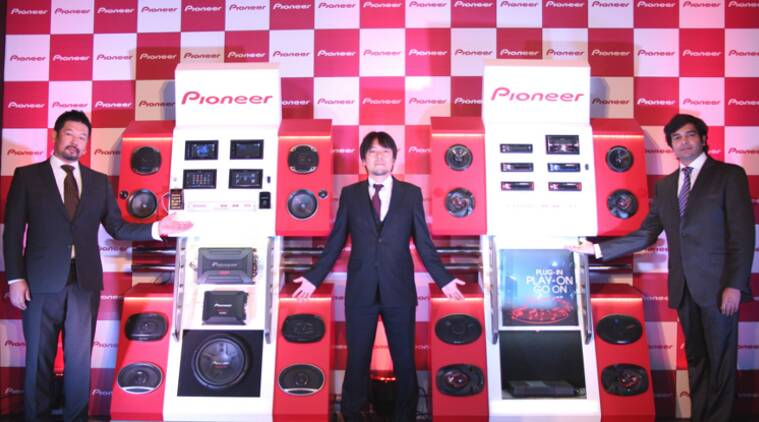 Pioneer launches new range of in-car entertainment products
