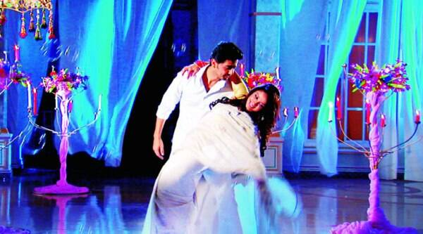 LOVE IS IN THE AIR:  Adah Khan and Alan Kapur dance in the dream sequence