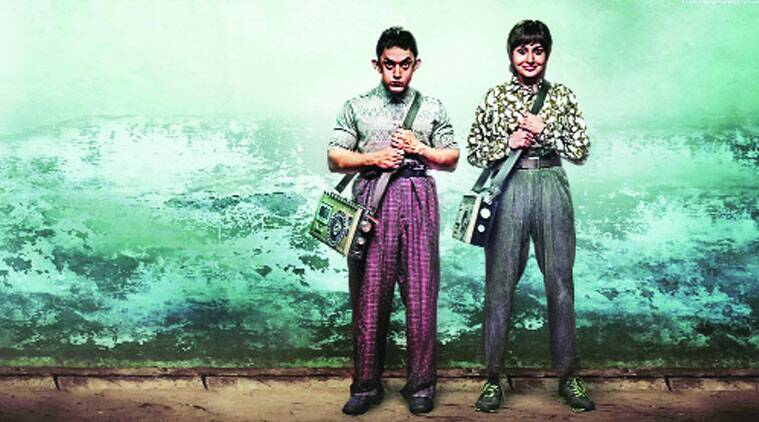 A poster of the film PK