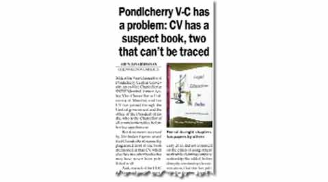 The allegations regarding her book add to other charges of gross illegalities against Chandra.