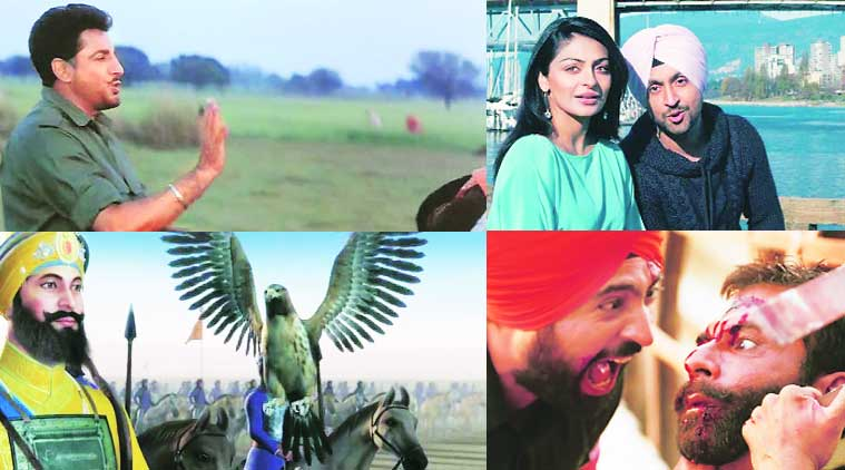A still from Shaheed-e- Mohabbat director Anurag Singh; a still from Jatt and Juliet; Chaar Sahibzaade is the first 3D animation film; Punjab 1984