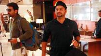 Cricket Australia officials arrive at Adelaide airport, team India don't