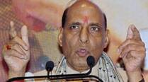 Militants frustrated by high voter turnout in J&K: Rajnath Singh
