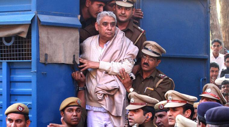 Rampal was sent to judicial custody till November 28, the next date of hearing. (Source: PTI photo)