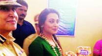 Rani Mukerji with Meeran Borwankar, Additional DGP (Prisons)