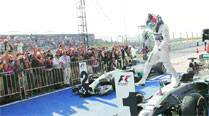 Formula One: In Texas, Lewis Hamilton's hold'em
