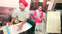 'Haven't encashed Rs 2-lakh cheque that Punjab gave; we needjustice'