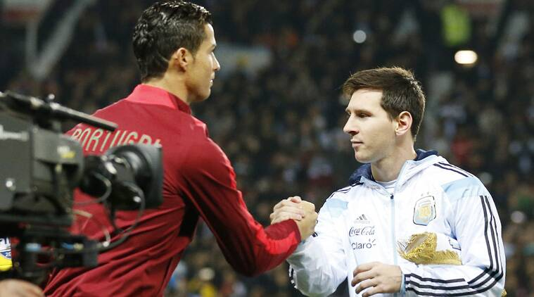 The main attraction was an anticipated Ronaldo-Messi duel which failed to deliver in a lackluster game. (Source: AP)