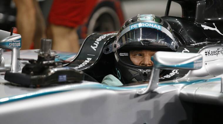 Rosberg is looking to prevent Hamilton from becoming Britain's first multiple champion since Jackie Stewart in 1972. (Source: AP)