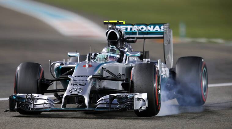 Hamilton was fastest in both practices on Friday but this time Rosberg turned the tables with a best lap of 1 minute, 41.424 seconds. Hamilton was 0.369 behind. (Source: Reuters)