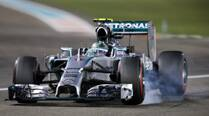 Rosberg on pole, Hamilton second in Abu Dhabi