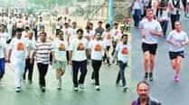 Run for Unity: Few turn up atVadodara