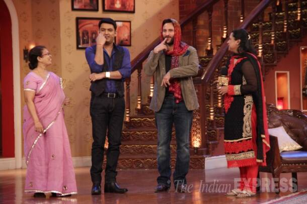 Saif, Govinda, Ileana, Kalki have 'fun' on Comedy Nights With Kapil