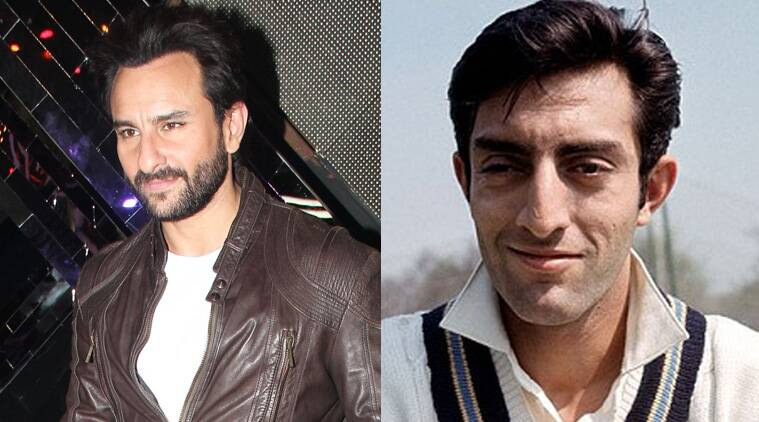 Actor-producer Saif Ali Khan, who once showed his interest of making a biopic on his late father Mansoor Ali Khan Pataudi, says the cricket star was so handsome that nobody can play his role. (Source: Varinder Chawla)