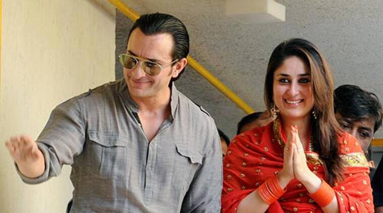 """""""I am not in a hurry to work with her. It would be a rare man who would like to work every time with his wife. It would be nice for me to work in a different world and then come home to meet her,"""" Saif told reporters in a group interview."""
