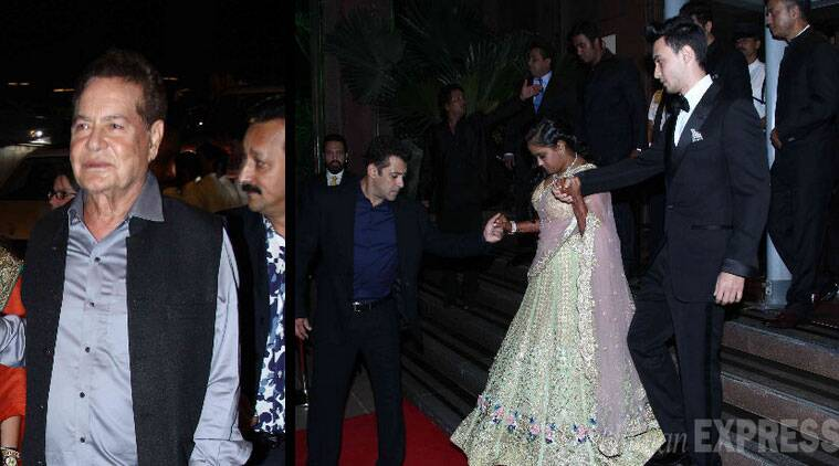 Salim saab was also quoted praising Arpita's in laws.