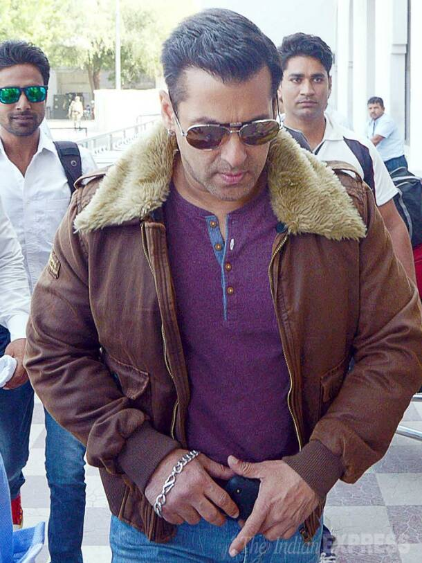 Salman Khan in Jodhpur for Black Buck case hearing, sister Alvira follows too