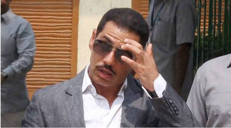 Robert Vadra, vadra, vadra land deal, vadra scam, robert vadra scam, robert vadra case, Robert Vadra controversial land,Rajasthan High court, Rajasthan HC Robert Vadra,Robert Vadra officials, randeep Surjewala, Narendra Modi, Ghulam nabi azad, Congress-BJP, Sonia Gandhi, BJP government-Vadra, India news, Indian Express