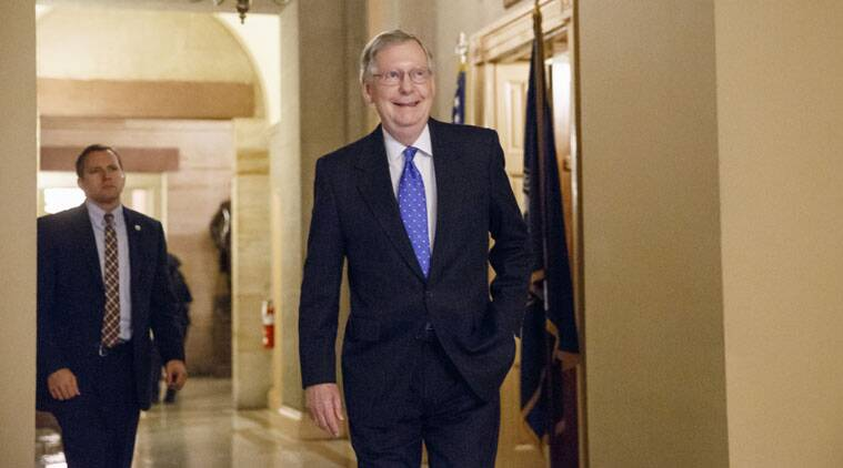 When the new US Congress convenes in January, Mitch McConnell becomes Senate majority leader.