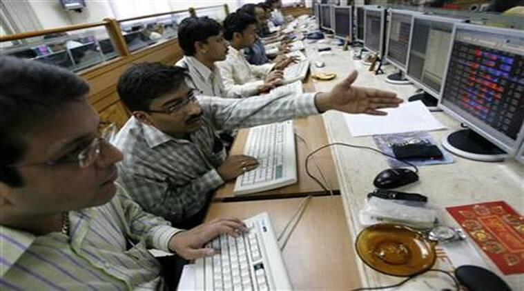 The BSE index finally settled at at 28,163.29, down 14.59 points, or 0.05 per cent -- snapping a two-day upmove. (Reuters)