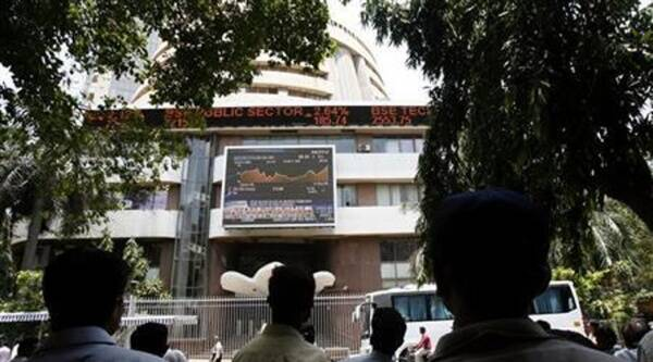 The 30-share Sensex, which had gained 106.02 points in the previous session on Friday, slipped by 44.51 points. (Reuters)