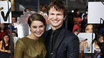 Shailene Woodley not dating Ansel Elgort