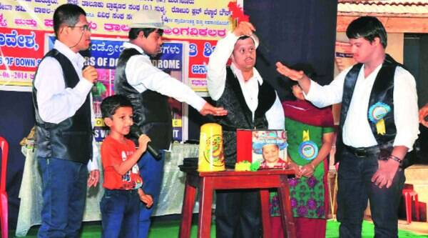 Five-year-old Satvik, who does magic shows to spread awareness about the specially-abled.