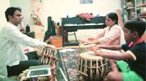 Weaving Hindustani music,  dance into Singapore culture