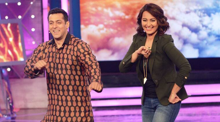 Sonakshi Sinha on Salman Khan: I don't like one thing about him and that is sometimes he scolds me a lot.