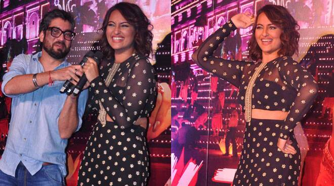 Sonakshi Sinha 'Naachegi'; launches Tevar's second song