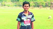 Juhu shanty boy sprints to gold at state talent hunt,barefoot