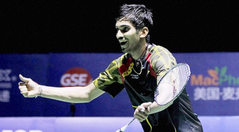 Srikanth had stunned five-time world champion Lin Dan in the China Open final last week. (Source: AP)