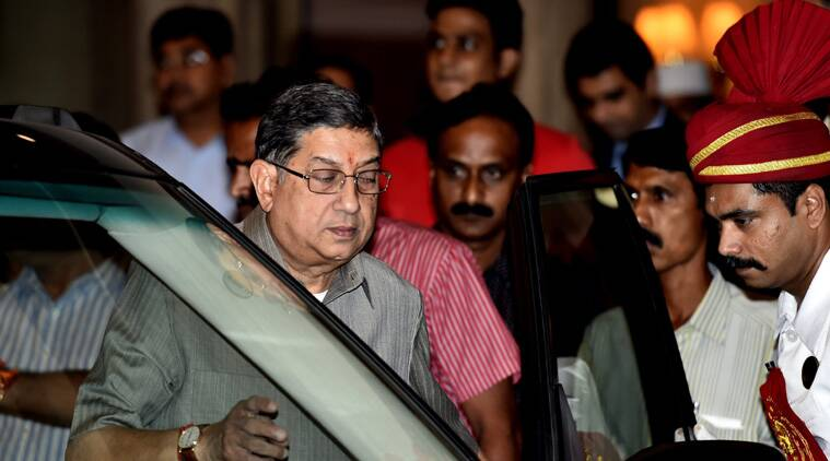 SC questions Srinivasan's return as BCCI president, says will have to address question of conflict of interest