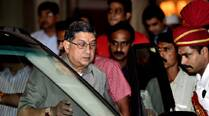 Supreme Court gives N. Srinivasan an option of two independent judges studying conflict of interest
