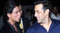 Watch: Salman Khan, Shah Rukh Khan make fun of their morphed pictures at Arpita's wedding reception