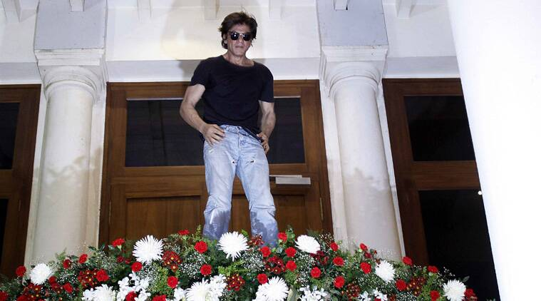 Bollywood superstar Shah Rukh Khan Sunday turned 49 and says that he doesn't count age as he always feels energised. He is also looking forward to his 50th birthday. (Source: Express Photo by Pradip Das)
