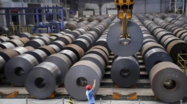 Of the total imports Boron added steel accounted for 80 per cent imports from China. Reuters