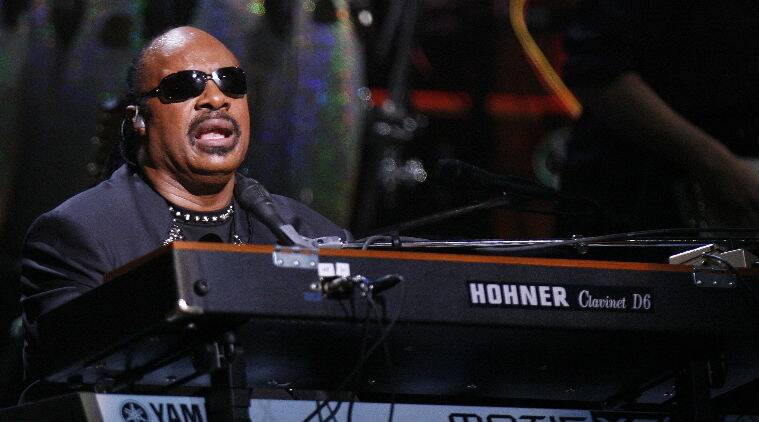 Stevie Wonder has been married twice and has children with five different women. (Source: Reuters)