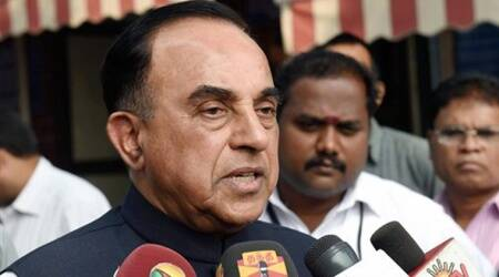 Facebook deletes the wrong Subramanian Swamy page