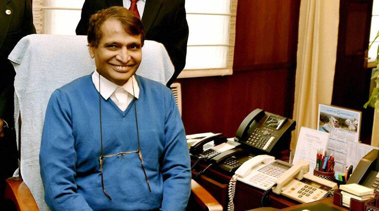 Suresh Prabhu,indian Railways, Railways, trains running time, trains running late, Suresh Prabhu, Narendra Modi, Northern Railway, india news, nation news