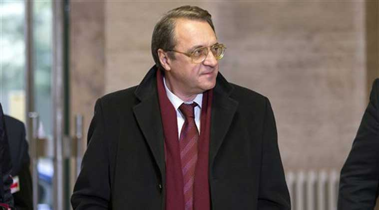 Russia's Deputy Foreign Minister Mikhail Bogdanov. (Source: AP photo)