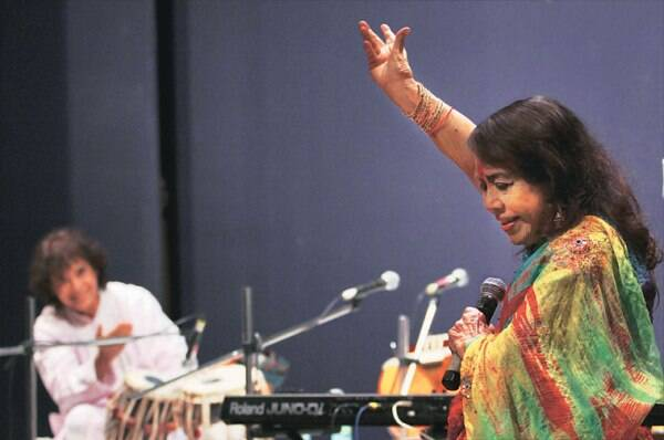 Zakir Hussain and Sitara Devi shared a great camaraderie on stage