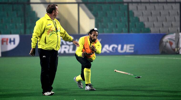 Chief coach Terry Walsh feels the Indian hockey team is playing at a higher level than they did (Source: Express File)