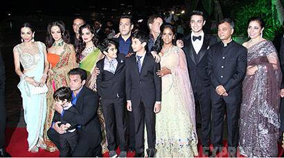 Inside Salman Khan's sister Arpita, Aayush's grand wedding reception
