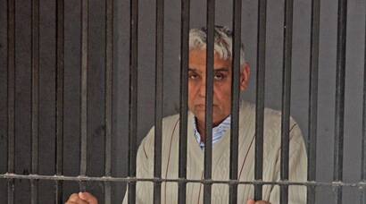 Behind bars, Rampal says allegations against him false